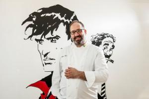 chef Andrea Fusco e il nuovo GIUDA BALLERINO