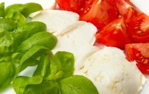 basilico-mozzarella-pomodoro